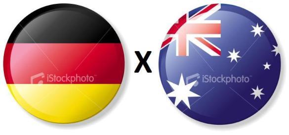 Resultado de imagem para Austrália x Alemanha 2010